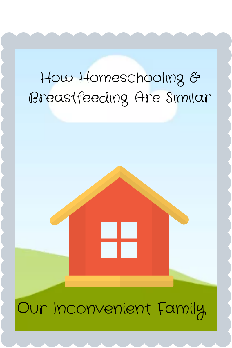 How Homeschooling & Breastfeeding Are Similar