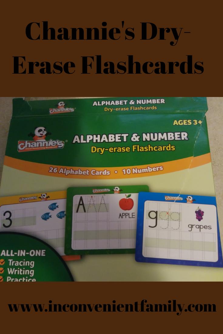 Channie's Dry-Erase Flashcards