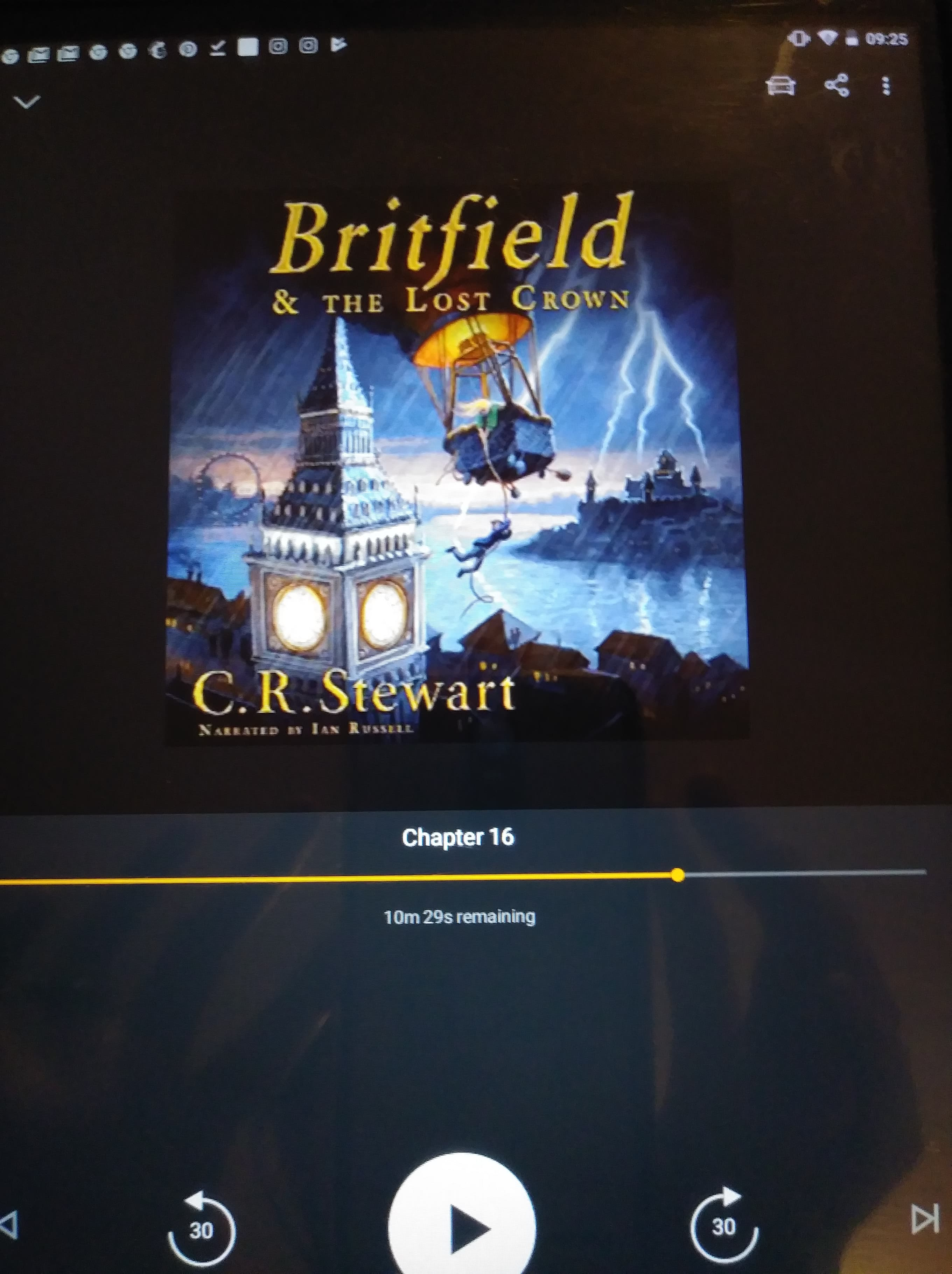"""Our Exciting Adventure with """"Britfield & the Lost Crown"""""""