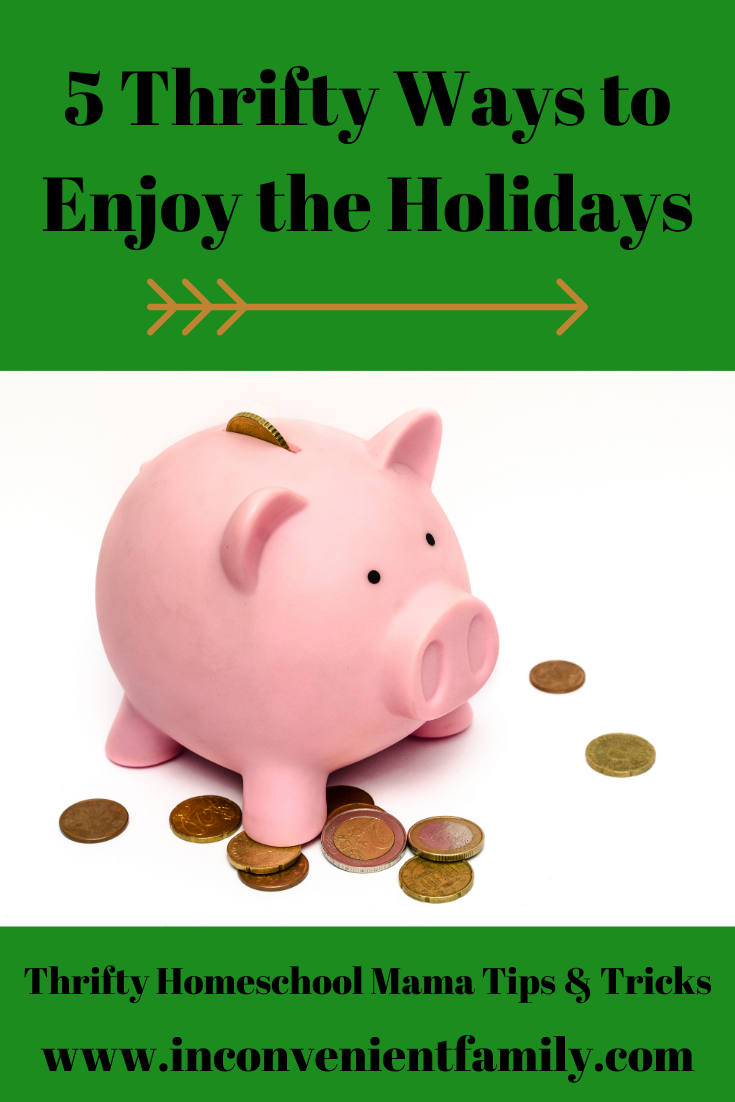 5 Thrifty Ways to Enjoy the Holidays