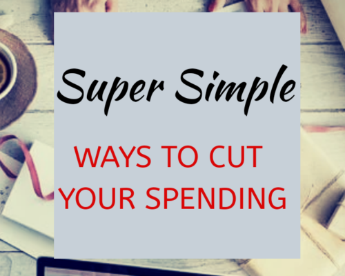 5 Super Simple Ways to Cut Your Spending!