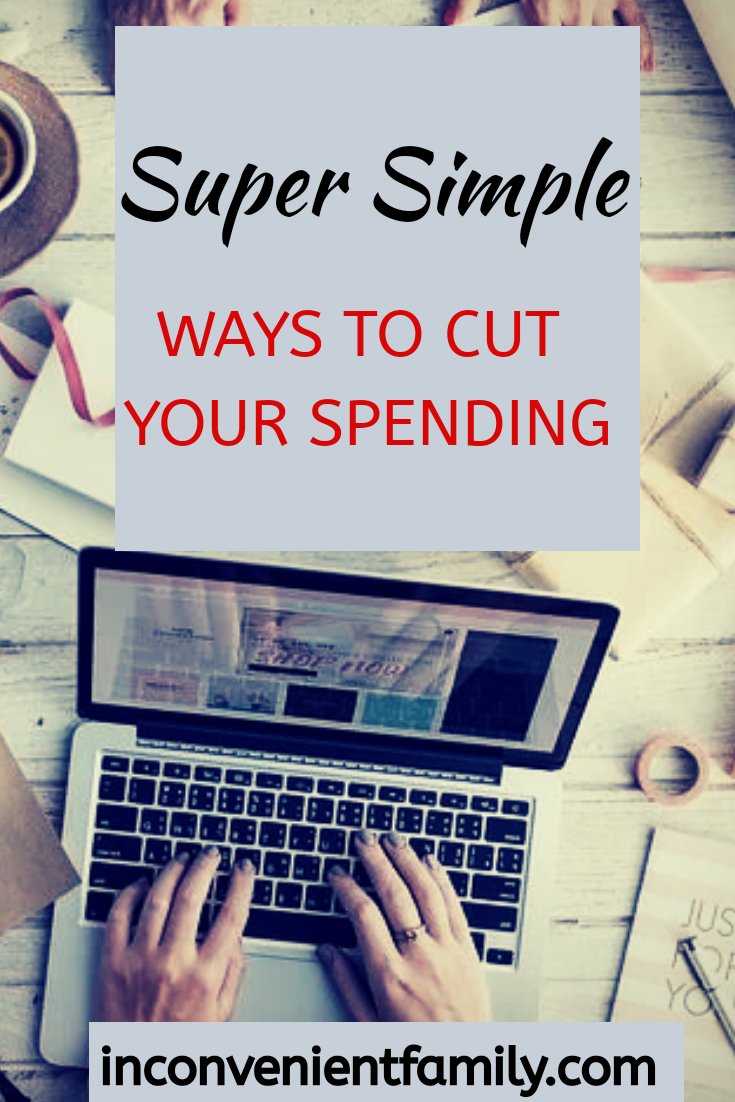 simple ways to cut your spending