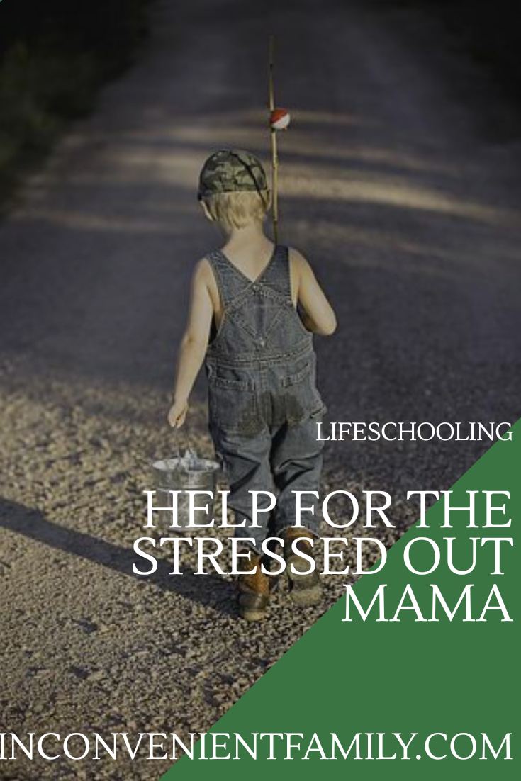 help for the stressed out mom