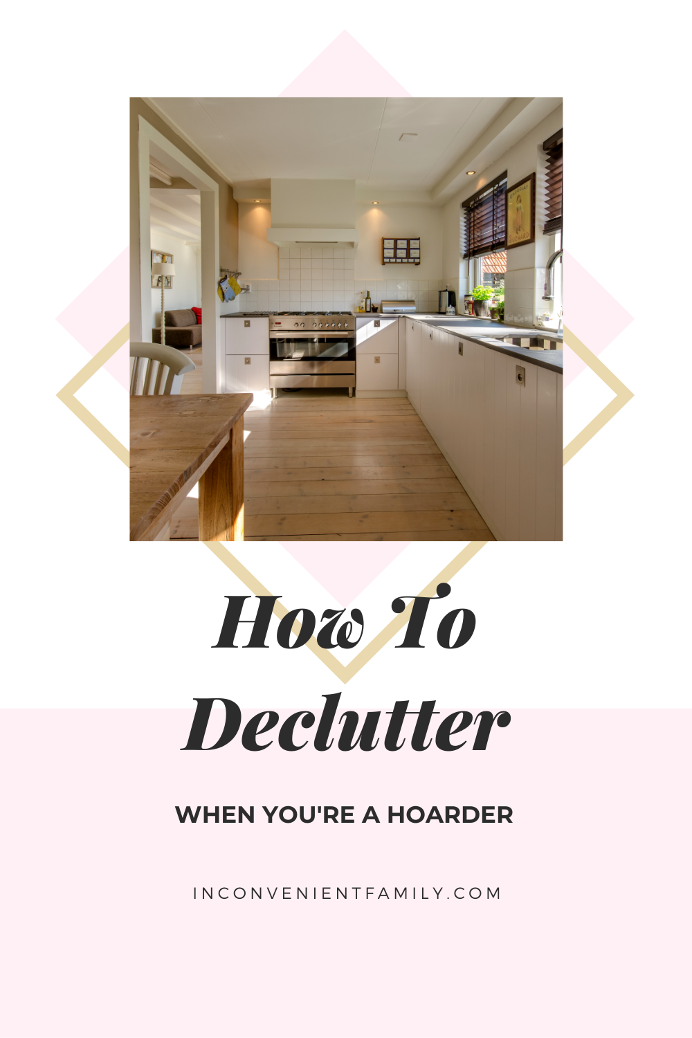 how to declutter when you're a hoarder