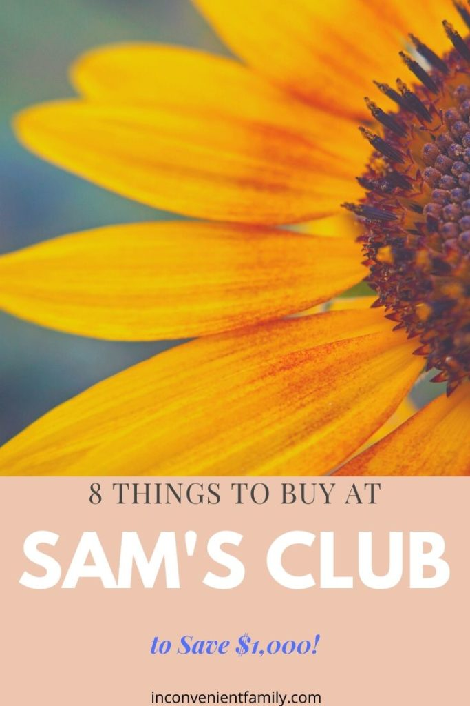 8 things to buy from Sam's Club