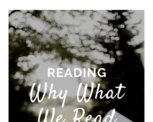 Why What We Read…Matters!