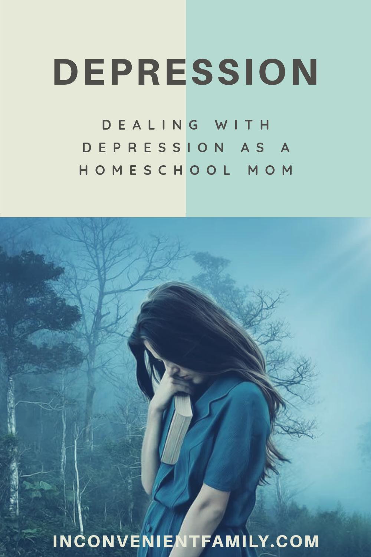 depression as a homeschool mom