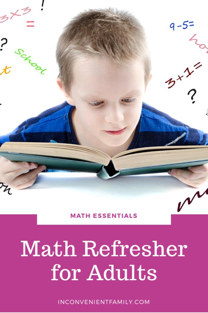 math refresher