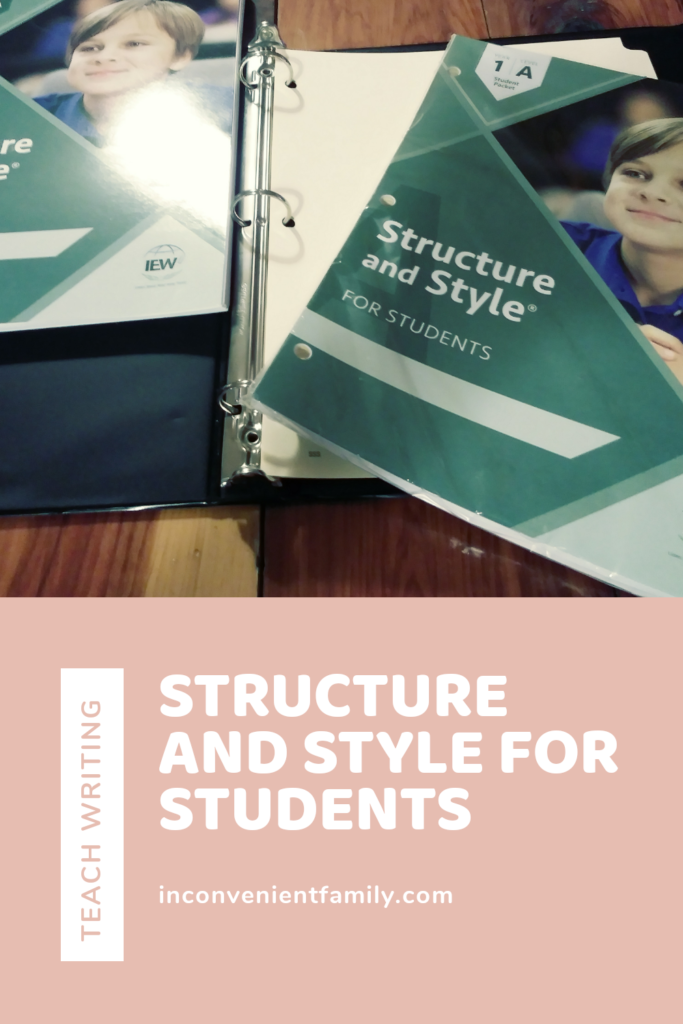 writing structure and style
