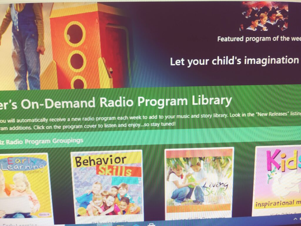 smart kidz radio learning program